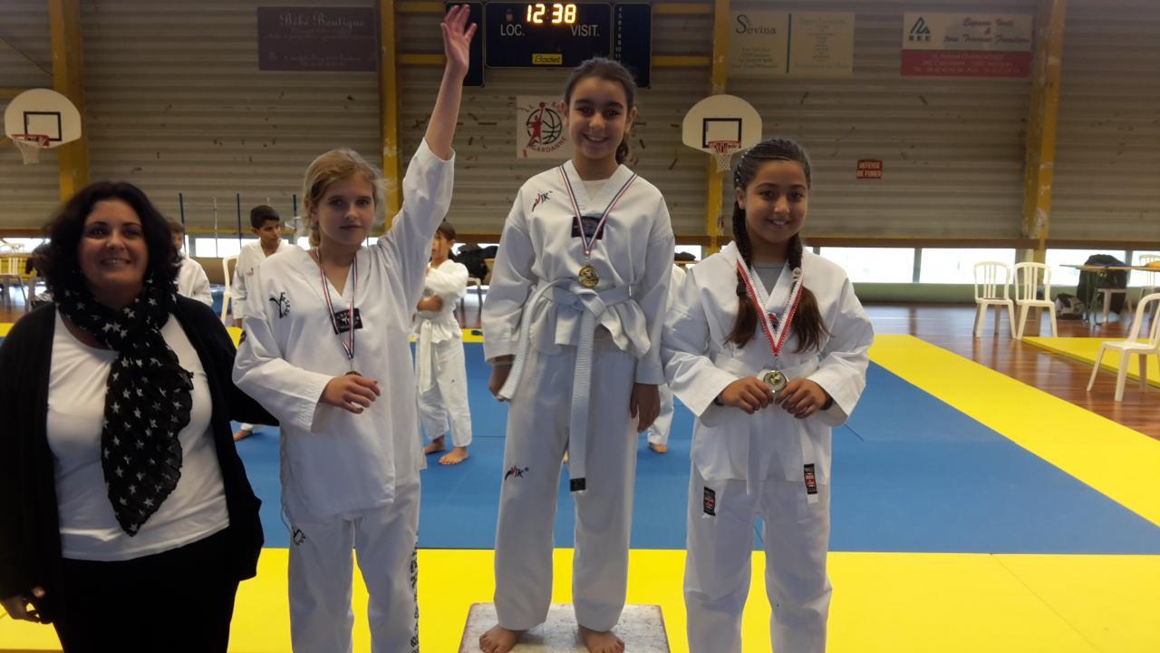Ilyana SHALABI médaillée d'argent